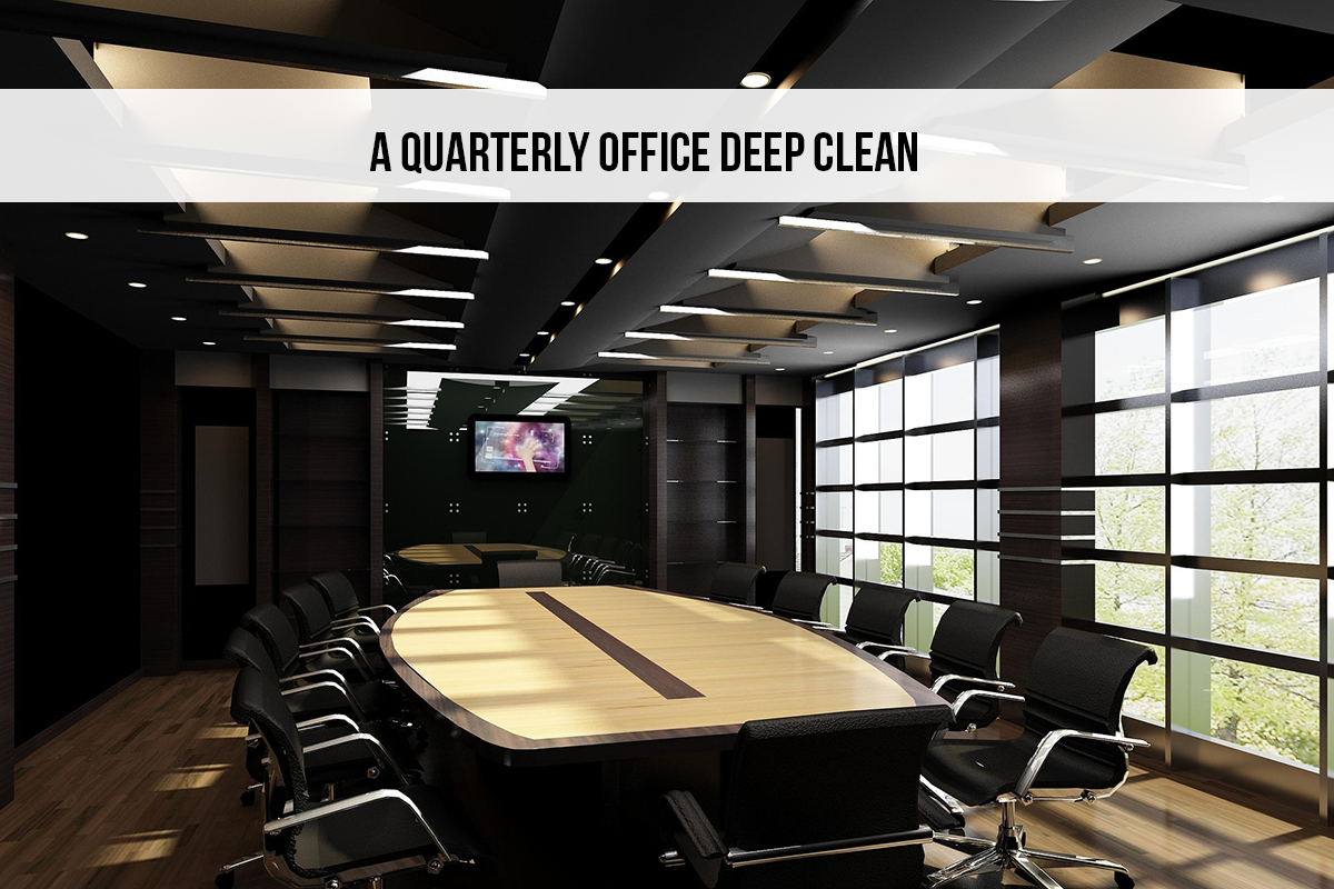 office deep cleaning